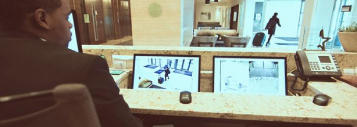 Hotel CCTV Monitoring with Access Control Systems
