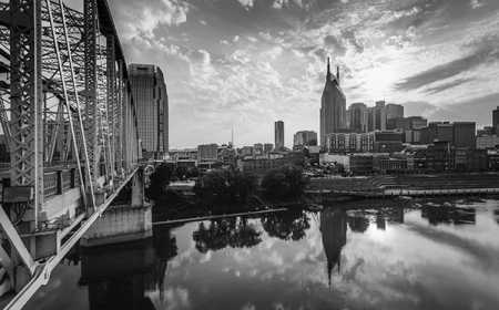 Nashville TN Skyline from ACS